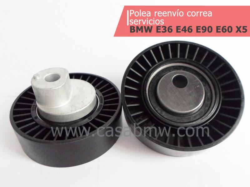 Repuestos & partes BMW -polea reenvío correa servicios
