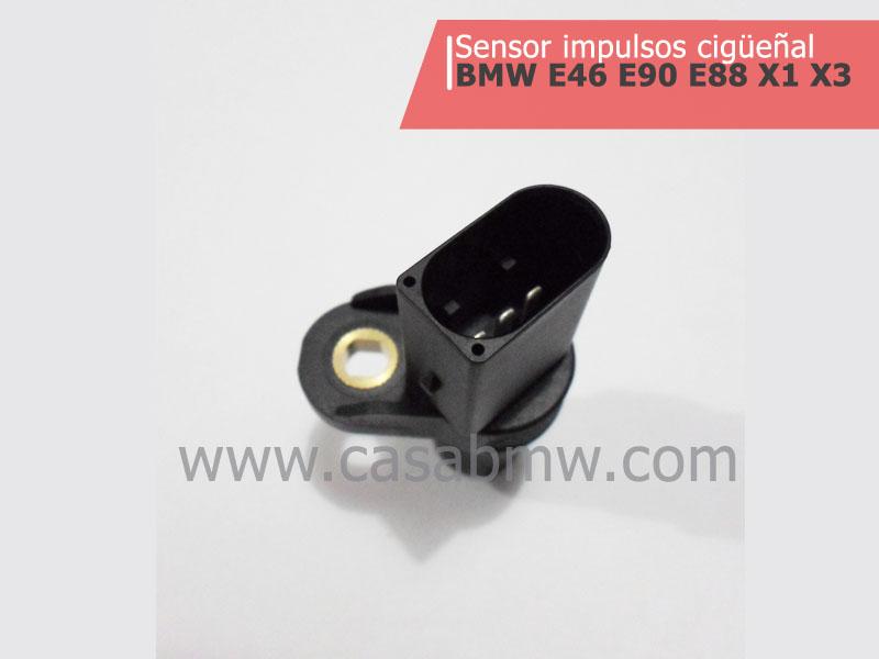 Repuestos & partes BMW   Sensor impulsos cigüeñal  E46 E90 E88 X1 X3